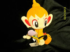 "Chimchar Halloween Plush UFO Doll Pokemon Diamond and Pearl by Banpresto, 8""tall"