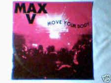"""MAX V Move your body 12"""" ITALO ZONE RARISSIMO"""
