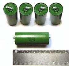 8 pcs  0.47uF / 0,47 uF 500V 10% USSR PIO capacitors K75-10  New, Old Stock