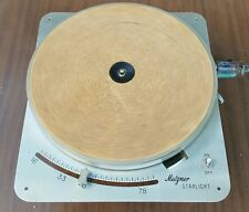 Vintage Robert Metzner Starlight C5B Turntable Record Player LP Works! Califone