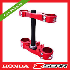 Triple clamps HONDA CR-F CRF 250 R crf250r 2010 2011 2012 2013 SCAR Racing CLAMP