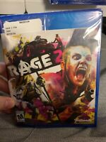 Rage 2 PS4 Brand New Sealed PlayStation 4 FAST/FREE SHIPPING!!!!