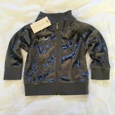Diesel Spiedib Age-6m Infant Baby Girls Grey Full Zip Sweatshirt BNWT Cardigan m
