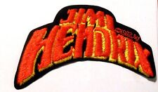 "Jimi Hendrix Patch Embroidered 5"" Inches Iron On Vintage 1982"