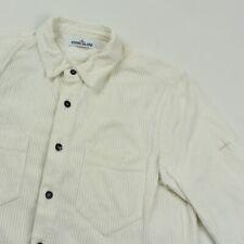 Vintage Stone island white corduroy jacket