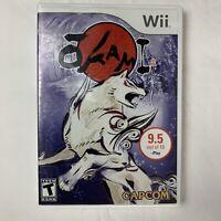 Okami Nintendo Wii Video Game 2007 Capcom CIB Tested