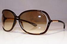 TOM FORD Womens Designer Sunglasses Brown Square GOLD Raquel TF76 692 25621