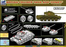 Bronco 1/35 CB35010SP Brtish Cruiser Tank A34 Comet