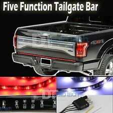 "49"" High Power 5-Function LED Strip Tailgate Bar Brake Signal Light Truck SUV"