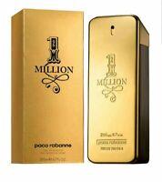 New&sealed Paco Rabanne 1Million 200ml Eau De Toilette Men Fragrance Spray WA523