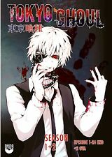 Anime DVD Tokyo Ghoul Sea 1+2 Bonus 2 OVA Complete Animation Box Set ENGLISH DUB