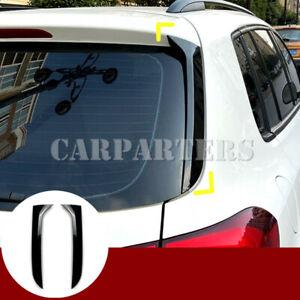 For VW Tiguan MK1 Black Rear Window Spoiler Side Wing Trim Cover 2007-2016