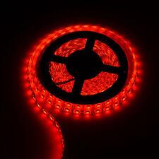 Red 5M NON Waterproof 300 LED 3528 SMD Flexible LED Light Lamp Strip DC 12V