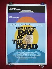 DAY OF THE DEAD * 1985 ORIGINAL MOVIE POSTER 1SH ROLLED GEORGE ROMERO HALLOWEEN
