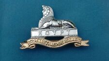 Staybright/Anodised.The Lincolnshire Regiment cap badge.