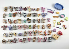 Littlest Pet Shop Lot of 58 Pets LPS Cats Dogs Accessories