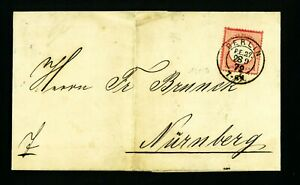 BERLIN 1872    D. Reich VF used cover / card   Germany  (732)   SEE 2 SCAN