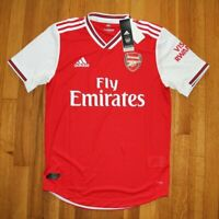 Adidas Arsenal Home Authentic Short Sleeve Soccer Jersey Men's S EH5640 New 2019