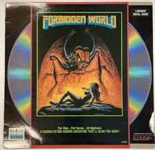 Forbidden world  laserdisc