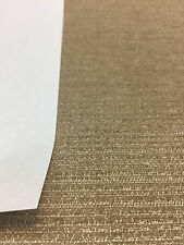 "20 Yard Roll Road Runner Antique Gold Chenille upholstery Fabric 57"" sofa couch"