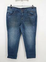 ELIE Womens Blue Stretch Light Wash High Rise Skinny Leg Denim Jeans Size 16