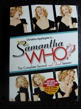 SAMANTHA WHO Complete Second & Final Season 3x DVD Box Set Chrstina Applegate