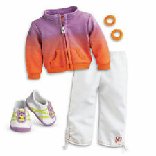 American Girl Doll McKenna's Warm-up Jacket pants shoes Outfit Retired