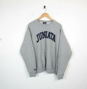 Vintage Jansport American College University Graphic Roundneck Sweatshirt 90s XL