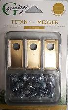 18 Titan Messer Klingen &Schrauben Honda® Miimo geprüfte Qualität Preisgarantie