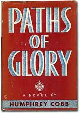 Humphrey Cobb / Paths of Glory First Edition 1935