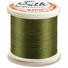 YLI 100/% and #100 Silk Thread 264 - Toad Kanagawa