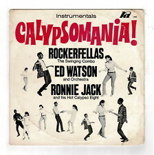 ED WATSON, ROCKERFELLAS & RONNIE JACK-calypsomania!  ra LP  (hear)  calypso