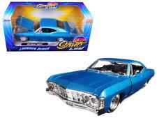 Jada 1/24 STREET LOW 1967 Chevrolet Impala Lowrider Series Diecast Blue (98935)