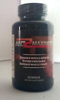 No2 Maximus Bodybuilding, Sports, Nitric Oxide Pre Workout Formula NEW & SEALED