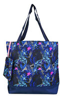 Jenzys Tropical Womens Travel Tote Bag Purse Handbag Shopping Gym School