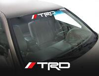 TRD Toyota Tacoma Tundra Sport Car Truck Windshield Decal Sticker Vinyl fp