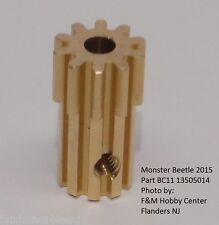 New Tamiya Part 3505014 2015 Monster Beetle Metal 10 T Pinion Gear Only From Kit