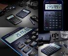 CASIO S100 BU Premium Desktop Calculator for Professional New calc NAVY BLUE