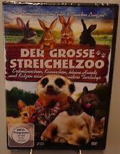 Der große Streichelzoo + Über 8 Stunden Tiere und Tierbabys + Spaß auf 2 DVD #T3