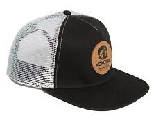 Nokona Baseball Adjustable Leather Chief Indian Head Snapback Mesh Back Hat Cap