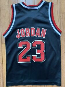 Chicago Bulls Champion Jersey Michael Jordan Youth Small 6-8 New With Tags