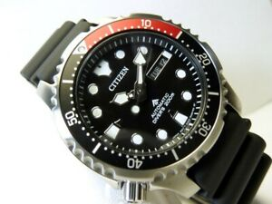 CITIZEN PROMASTER AUTOMATIC DIVER WATCH NY0085-19E JAPAN MOVT+ 2 Years Warranty