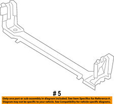 CHRYSLER OEM Radiator Core Support-Lower Tie Bar Bracket 5065240AG