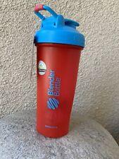 Blender Bottle 28oz.  Special Edition. Red/blue