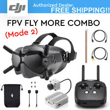 DJI Digital FPV Goggles, Air unit and Remote Controller- Fly More Combo (Mode 2)