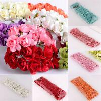 144 Stück Schaum Rosen Künstliche Blumen Rosenköpfe Rosenblüten Hochzeit Deko
