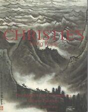CHRISTIE'S HK MODERN CHINESE PAINTING Lin Fengmian Qi Baishi Zhang Daqian Cat 03