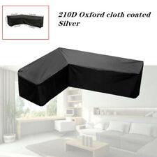 L Shape Corner Sofa Furniture Cover Patio Outdoor Garden Anti-mite Protector