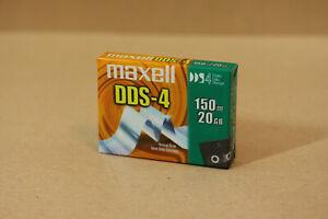 Maxell HS-4/150S DDS-4 DAT Band Kassette Data Cartridge 20/40GB