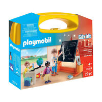 Playmobil City Life School Carry Case Building Set 70314 NEW IN STOCK